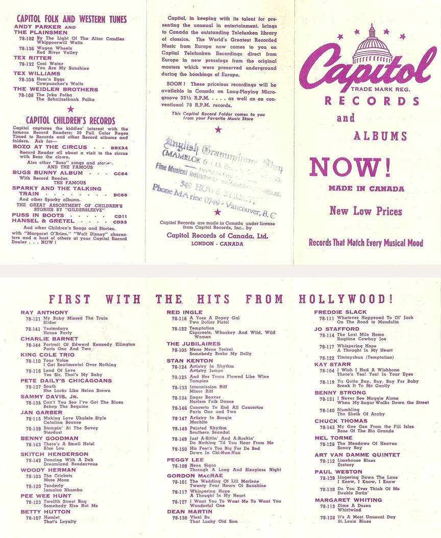 first capitol catalog