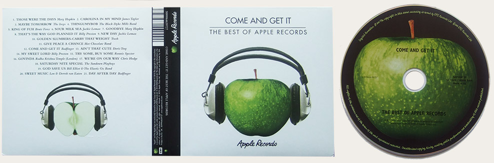 Come And Get It Apple Greatest Hits CD