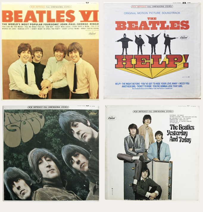 stereo Beatles Albums