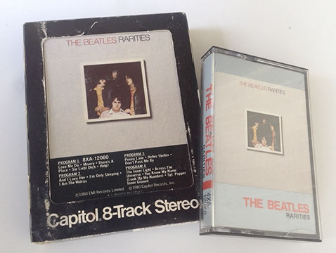 Rarities Canadian Cassette and USA 8 track