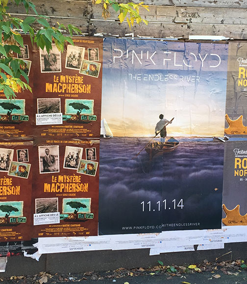 Endless River Street Poster