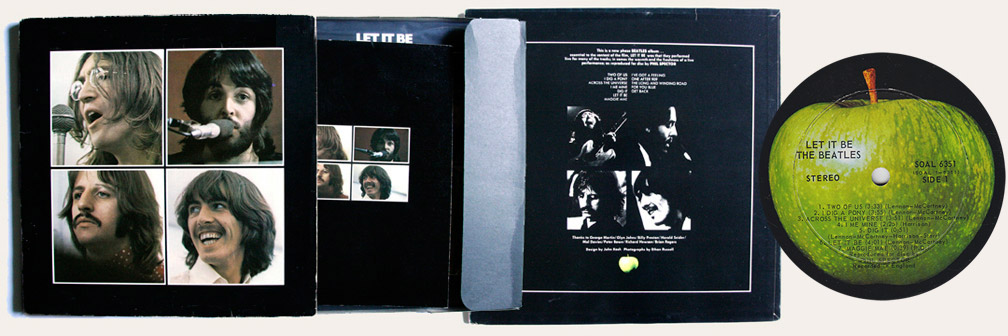 Let it Be Box Set Canadian LP