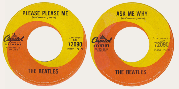 Please PLease Me Canadian 45