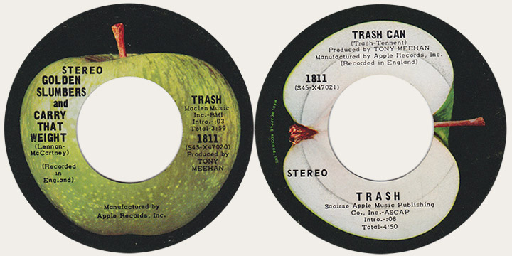 Trash GOlden slumbers Canadian Apple 45