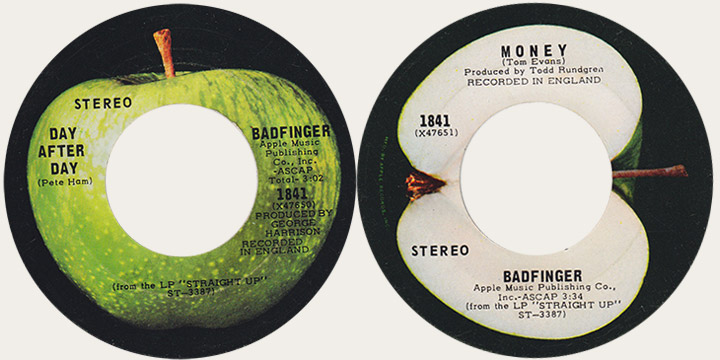 Badfinger Day After Day Canadian Apple 45
