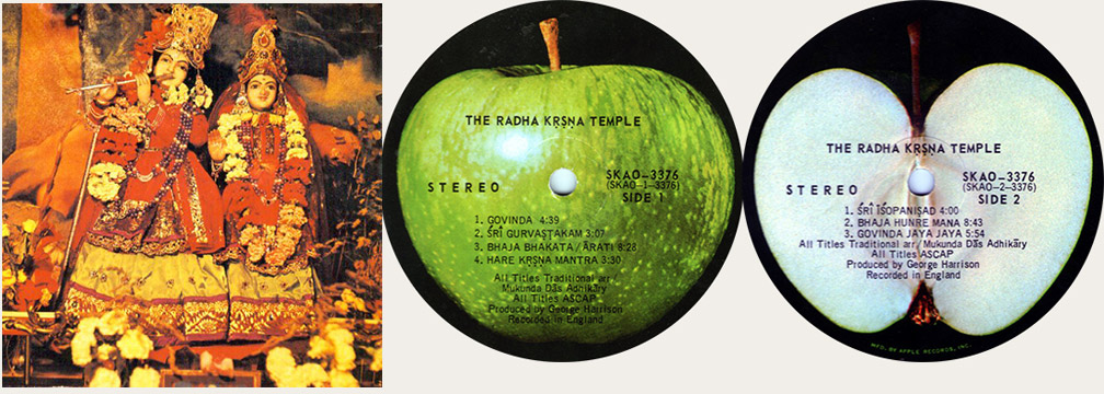 Rhada Krshna Temple Canadian LP