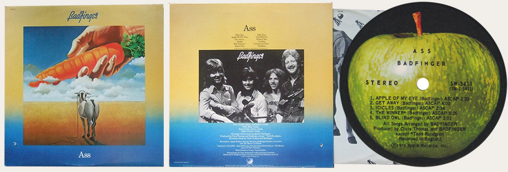 Badfinger Ass Canadian LP