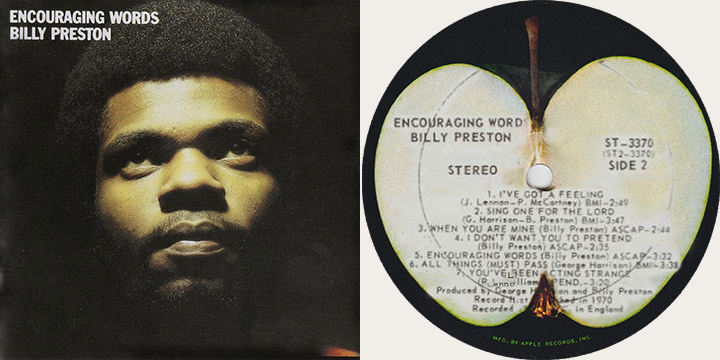 Billy Preston Encouraging Words Canadian LP