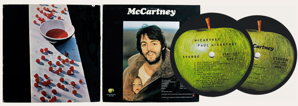 McCartney Canadian LP