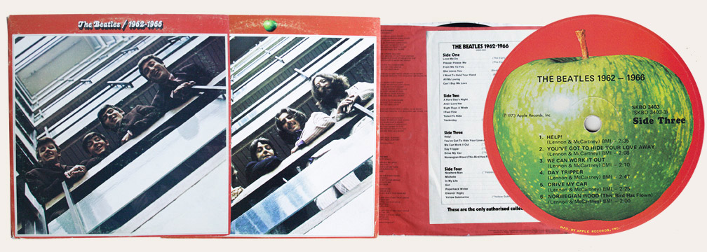 Red Album Canadian LP