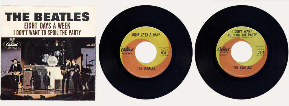 Eight Days A Week Canadian 45