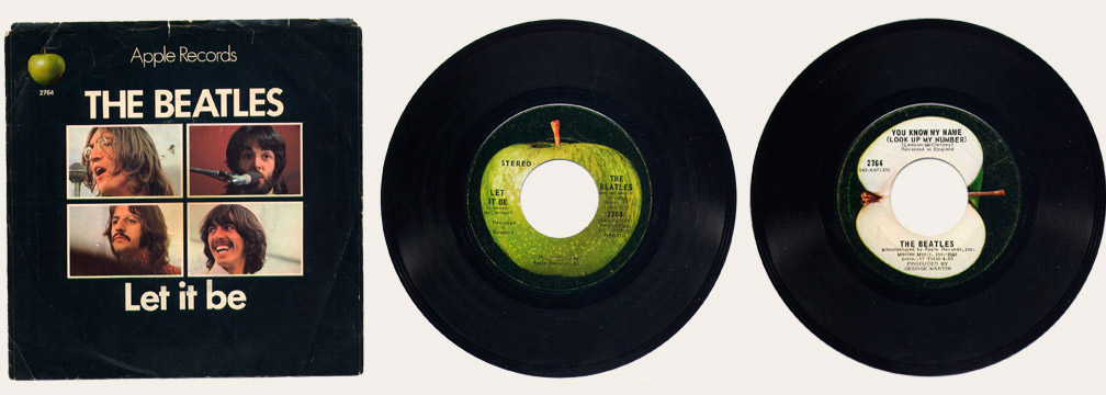 Let It Be Canadian 45