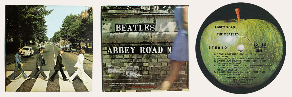 Abbey Road Canadian LP