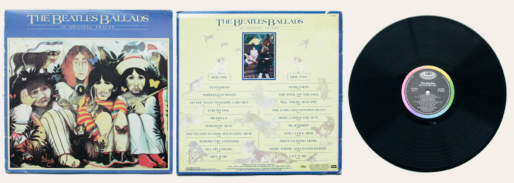 Beatles Ballads Canadian LP