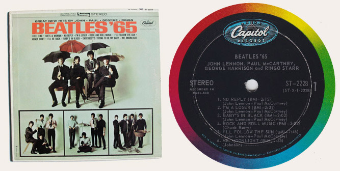 Beatles 65 lp