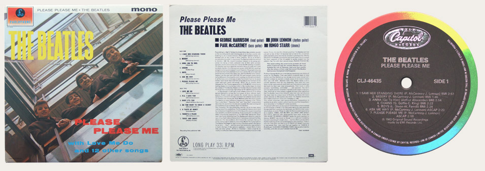 Please Please Me CLJ Canadian LP