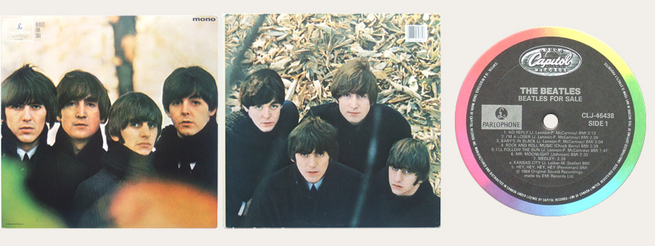 Beatles For Sale CLJ Canadian LP