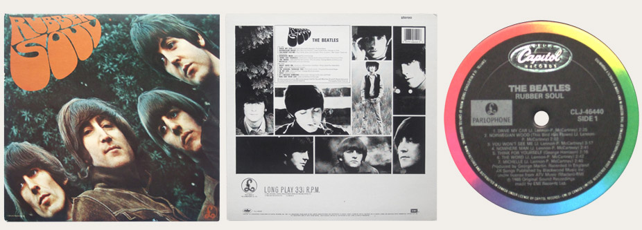 Rubber Soul CLJ Canadian LP
