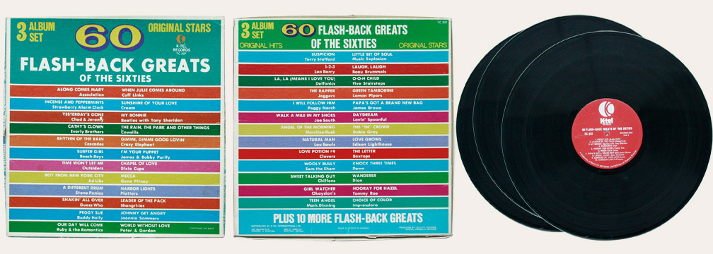 Flash Back Ktel Canadian LP