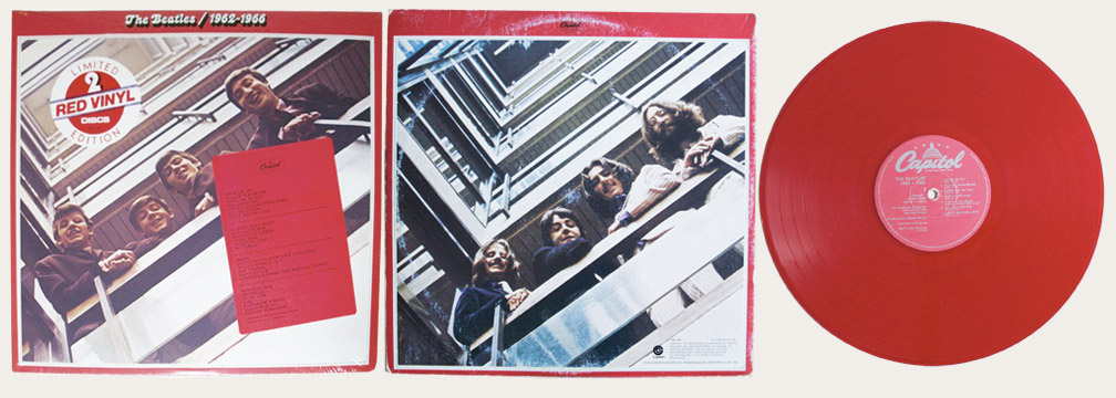 Red Album Red Vinyl Canadian LP