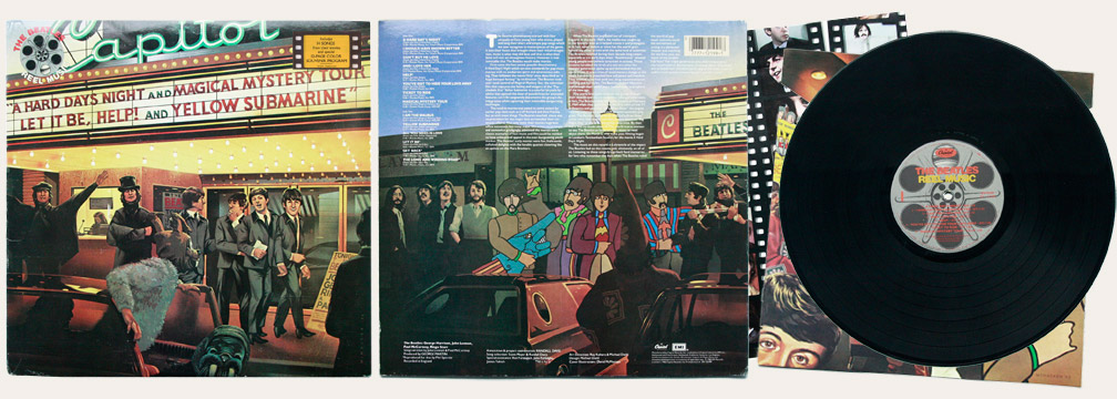 Reel Music Canadian LP