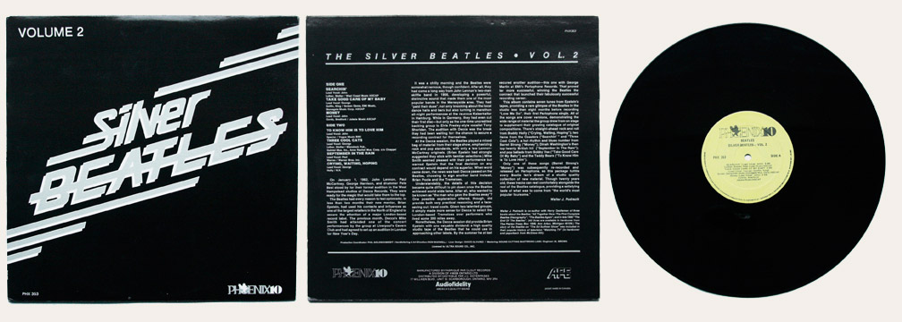 Silver Beatles vol 2 Canadian LP