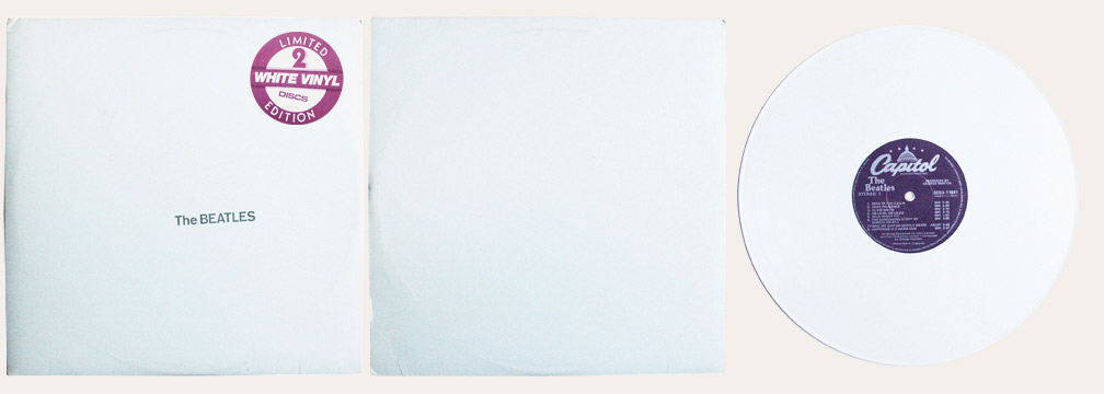 WHite Album White Vinyl Canadian LP