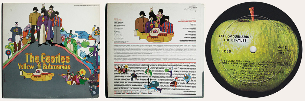 Yellow Submarine Canadian LP