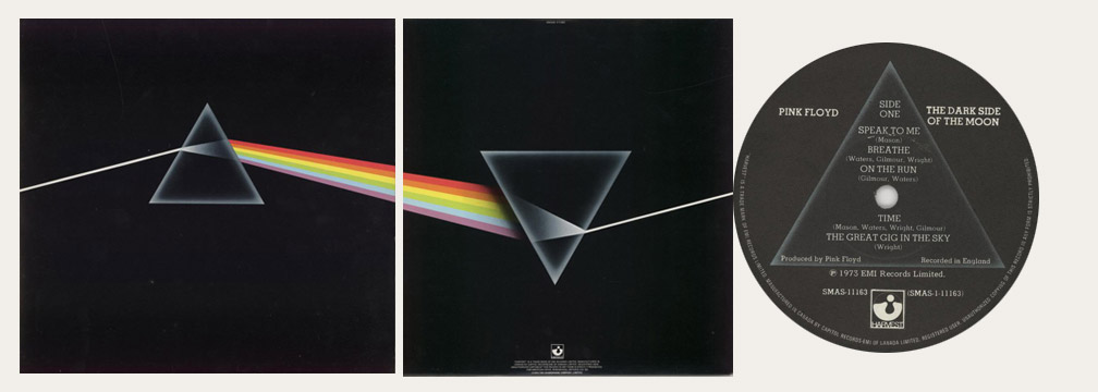 Pink Floyd Dark Side Of The Moon Canadian LP