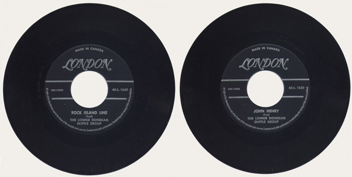 Lonnie Donegan 45